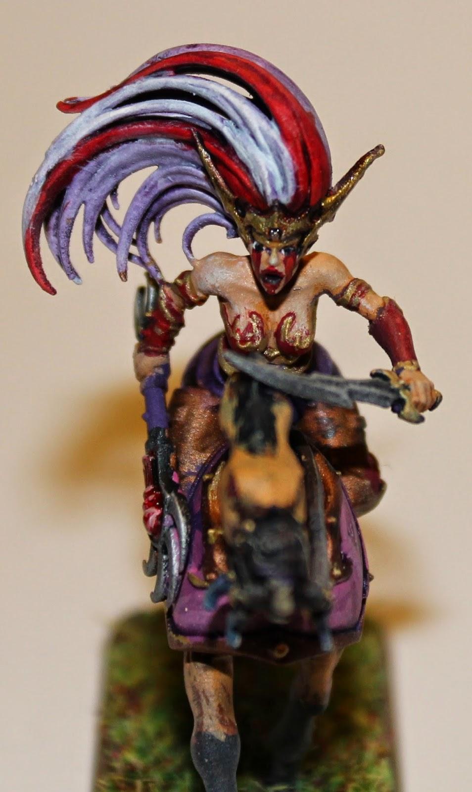 Mounted Sorceress