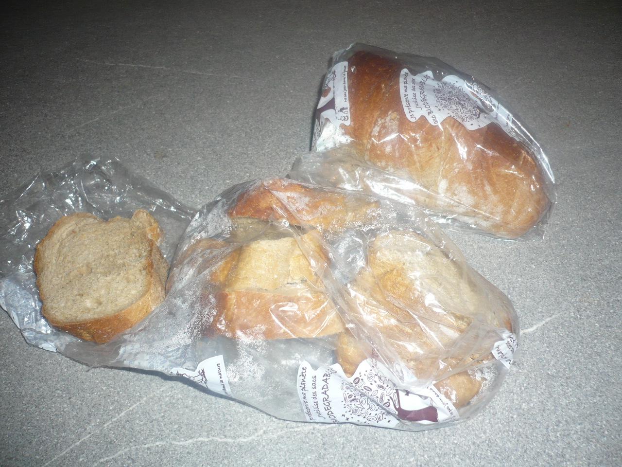 Avant de congeler le pain faire quelque chose de pas for Comment congeler du pain