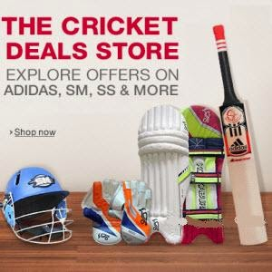 Buy Cricket Gear at 69% Cashback on Rs.199 Via Paytm:buytoearn