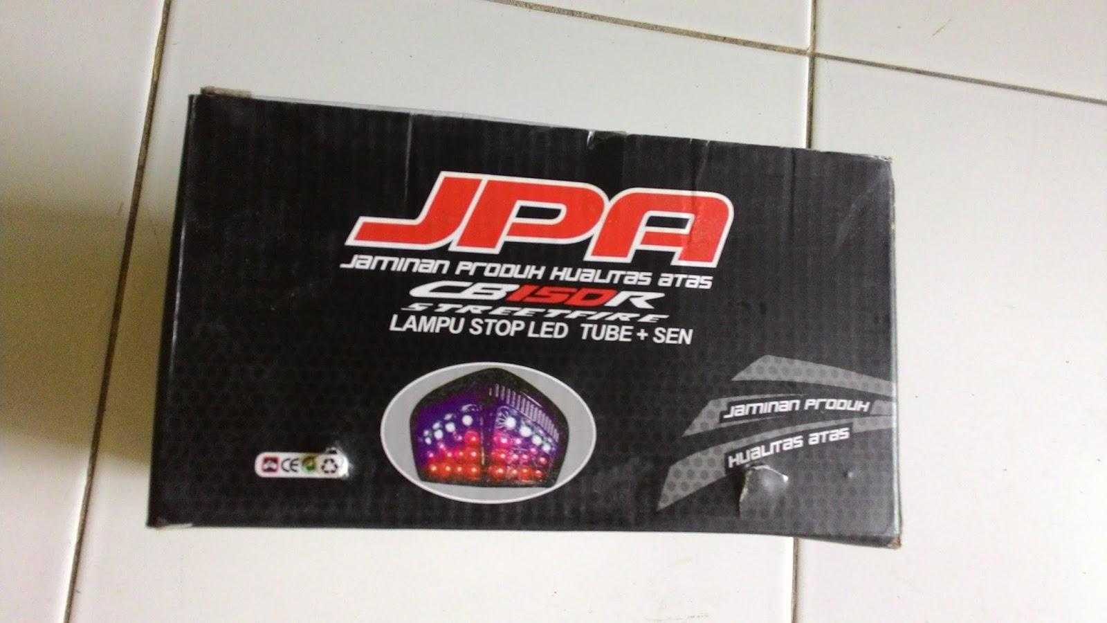 Welcome To Setyos Blog Jpa Lampu Stop Led Tube Sein Honda Cb150r Cb 150r