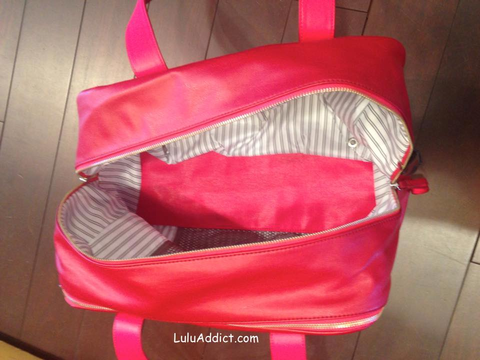 lululemon urban sanctuary bag cranberry