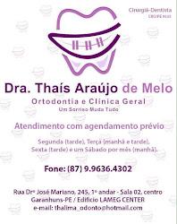 Drª Thaís Araújo de Melo