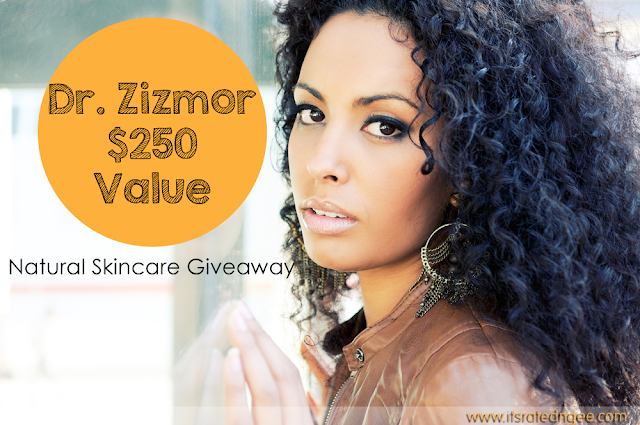 Dr. Zizmor Natural Skincare Giveaway