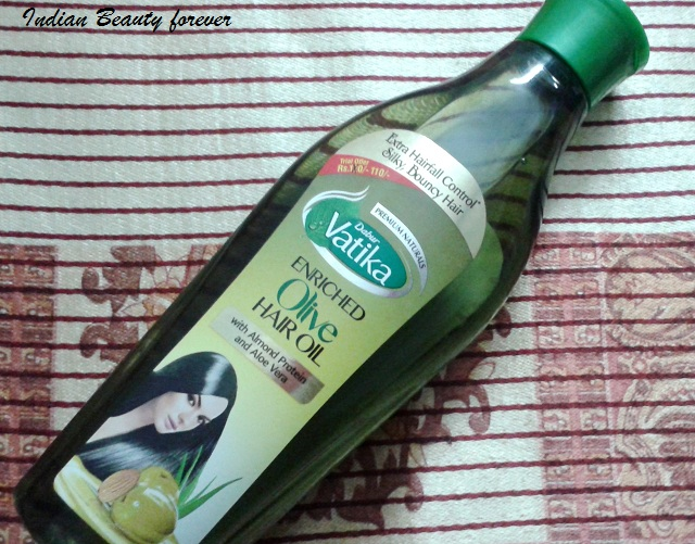 Dabur Vatika Enriched Oilve Oil Review