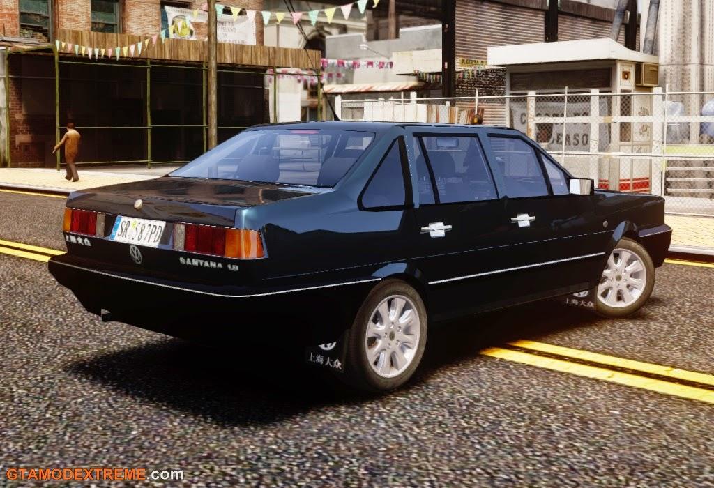 Baixar carro brasileiro Volkswagen Santana 1.8 Century Rookie Para GTA IV