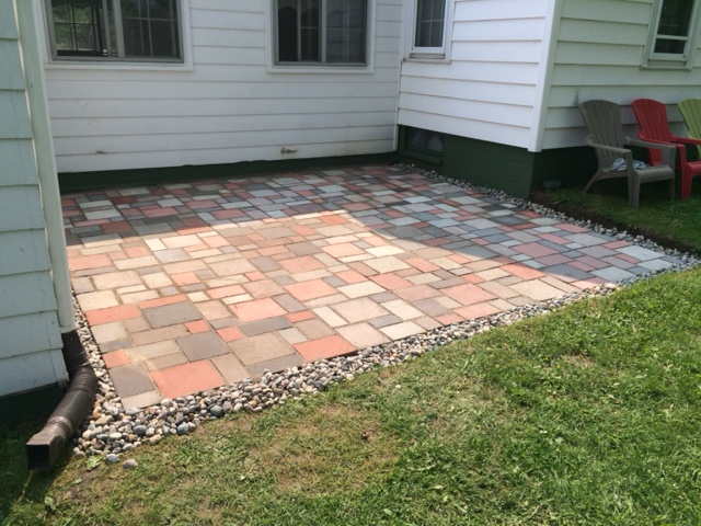 A Reader Submitted Photo Of Their Patio! Made With The Paver Mold And Tint  Discussed On Budget Barbie.