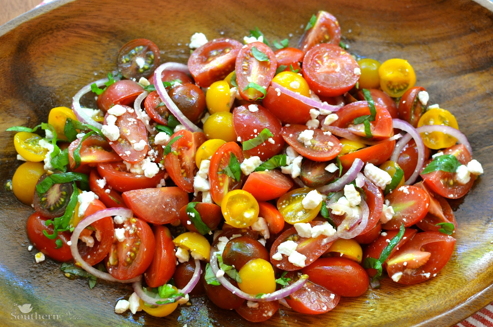 Heirloom-Tomato and Avocado Salad