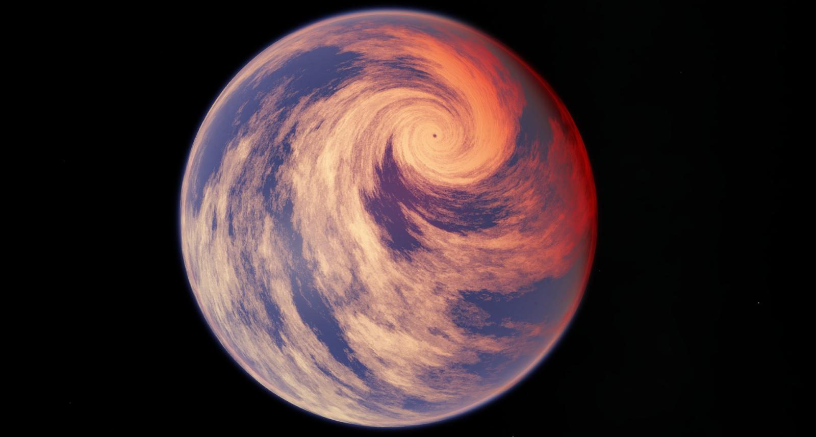 Far Future Horizons : Prehistoric Megastorms ~ Hypercane