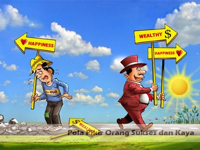 pola pikir orang sukses dan kaya