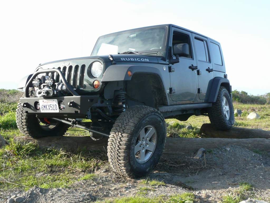 Rubicon4wheeler Choosing The Right Suspension System Jeep Wrangler Front Diagram