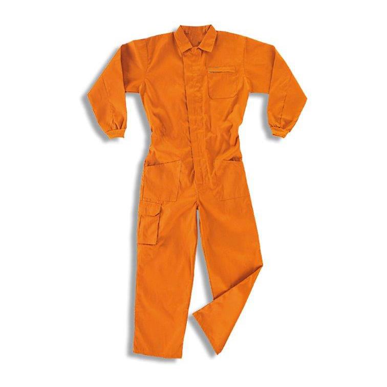 Ampliar imagen: Buzo Naranja de Tergal TOP - MARCA