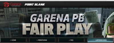 Langkah-Langkah Cara Melaporkan Cheater Ke (GM) Website Point Blank Garena
