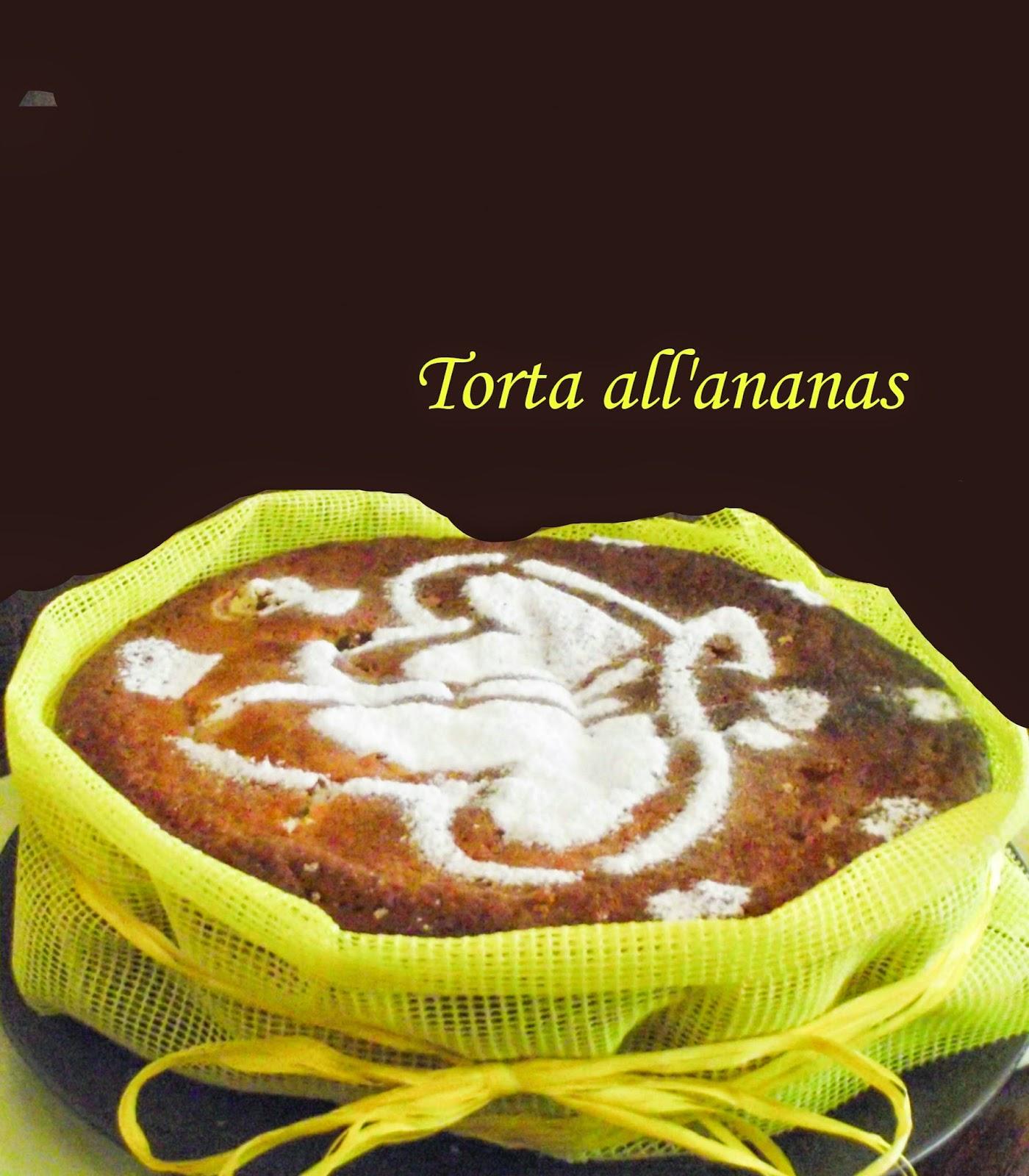 una semplice torta all'ananas e la perfezione del diverso
