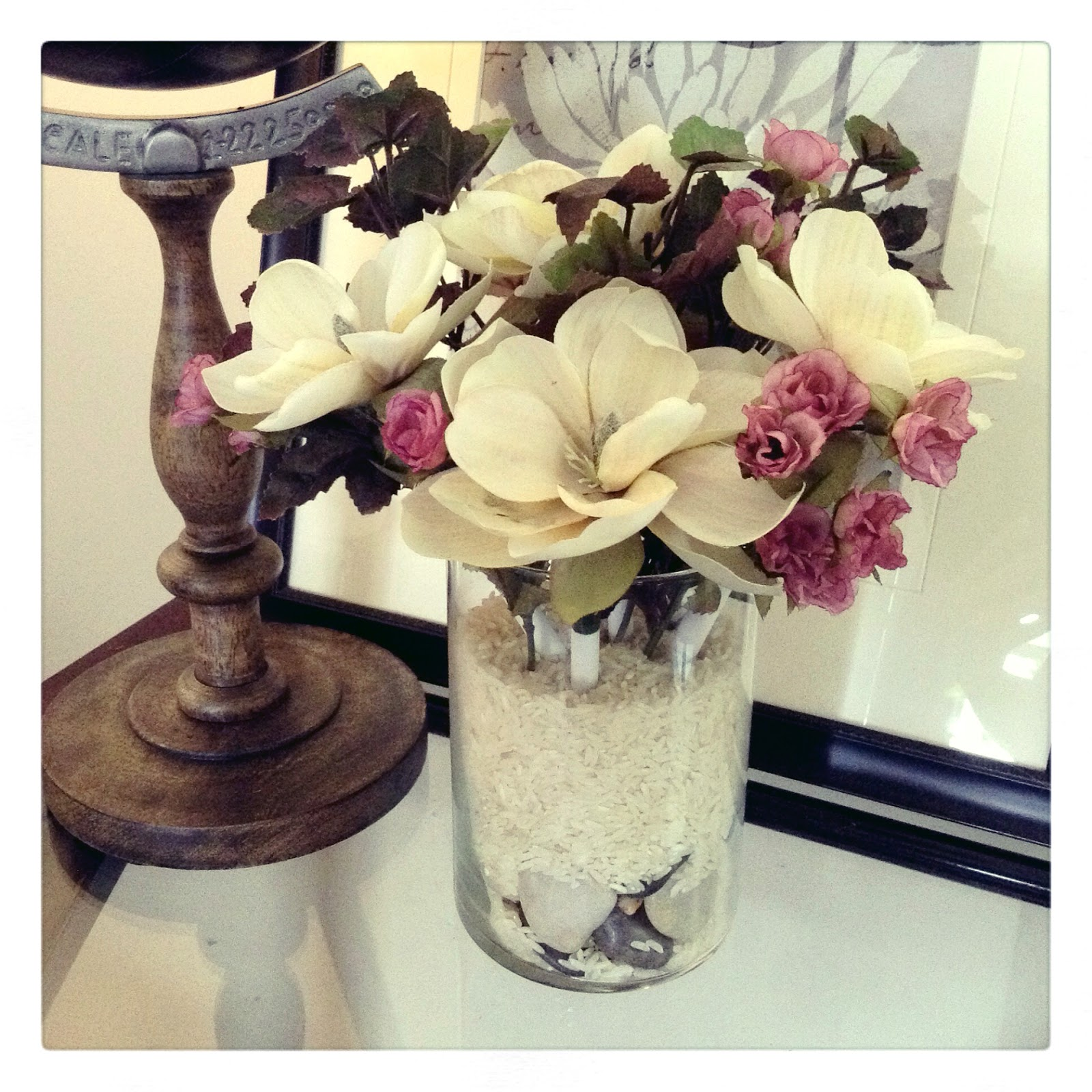 M4rilynJ0y: DIY: Flower Pens in a Vase