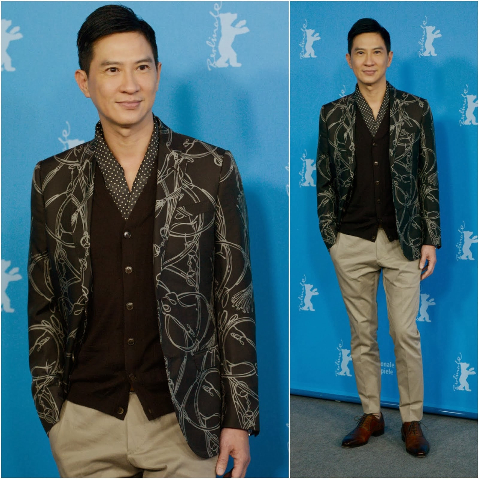 Nick Cheung [张家辉] in Gucci - 64th Berlinale International Film Festival