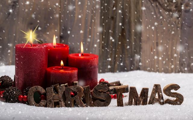 Hình ảnh đẹp tuyết rơi đêm giáng sinh