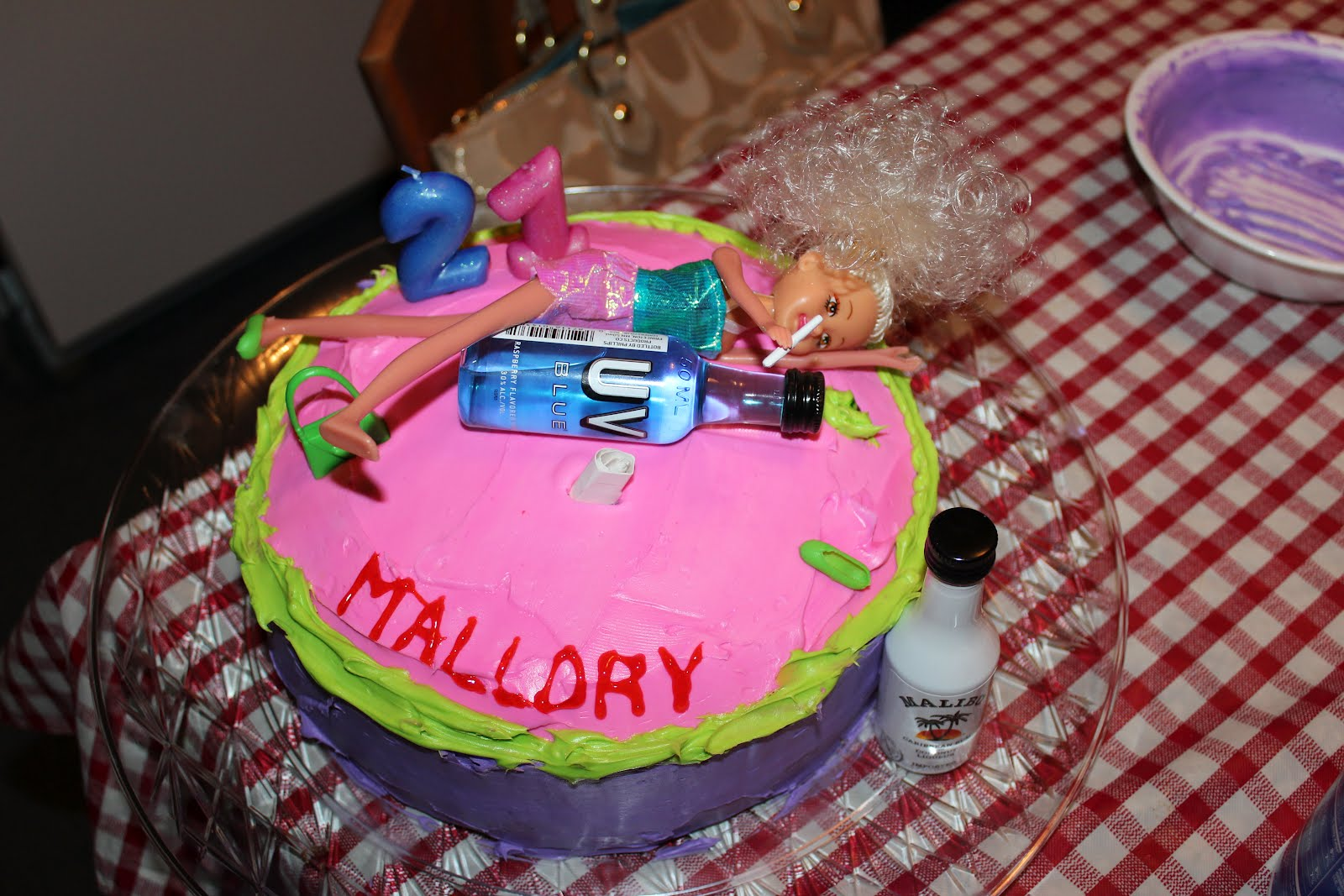 Just picture it...: 21st Birthday Cake