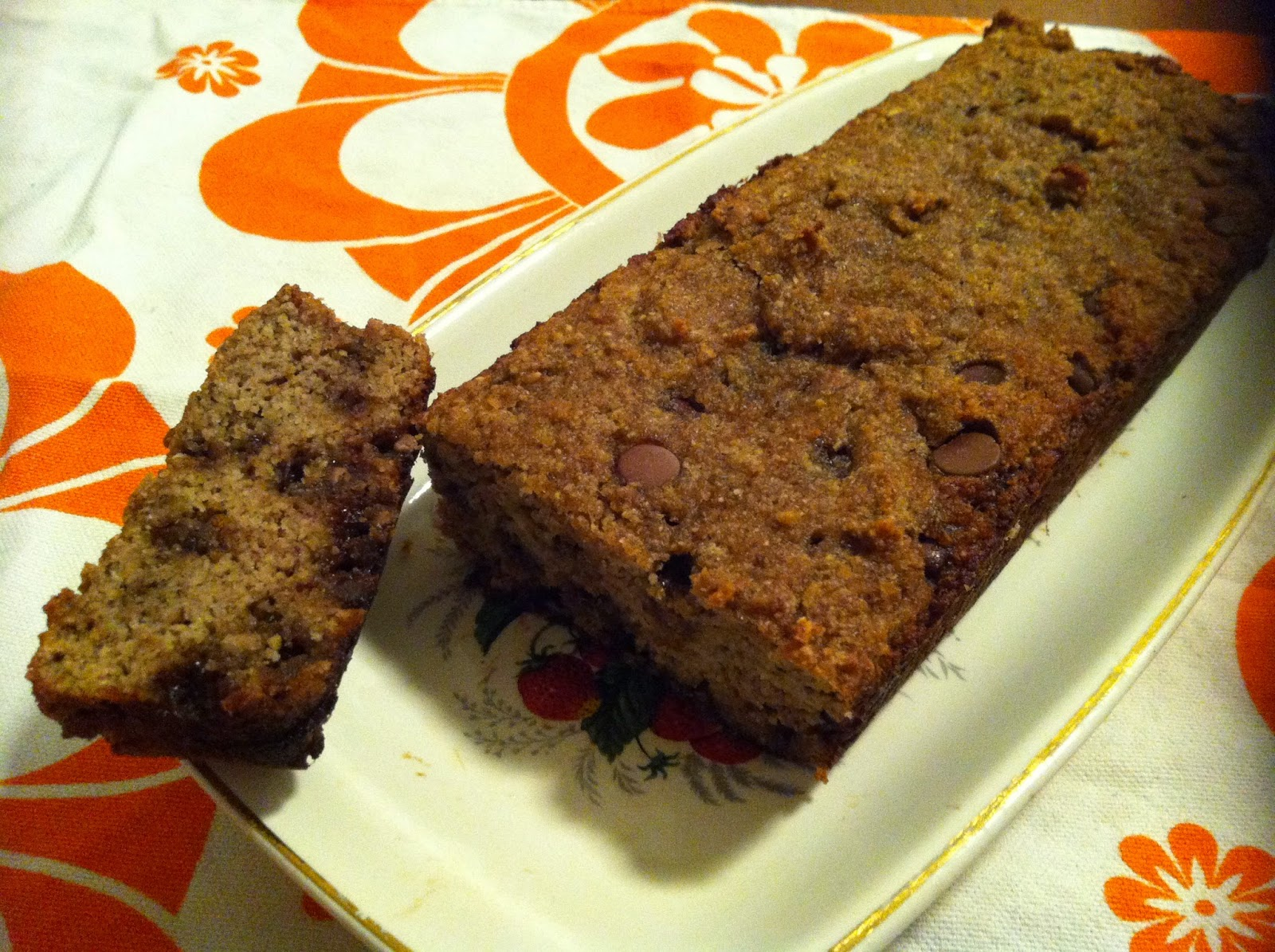 Chocolate Chip, Coconut and Banana Bread | Laws of the Kitchen
