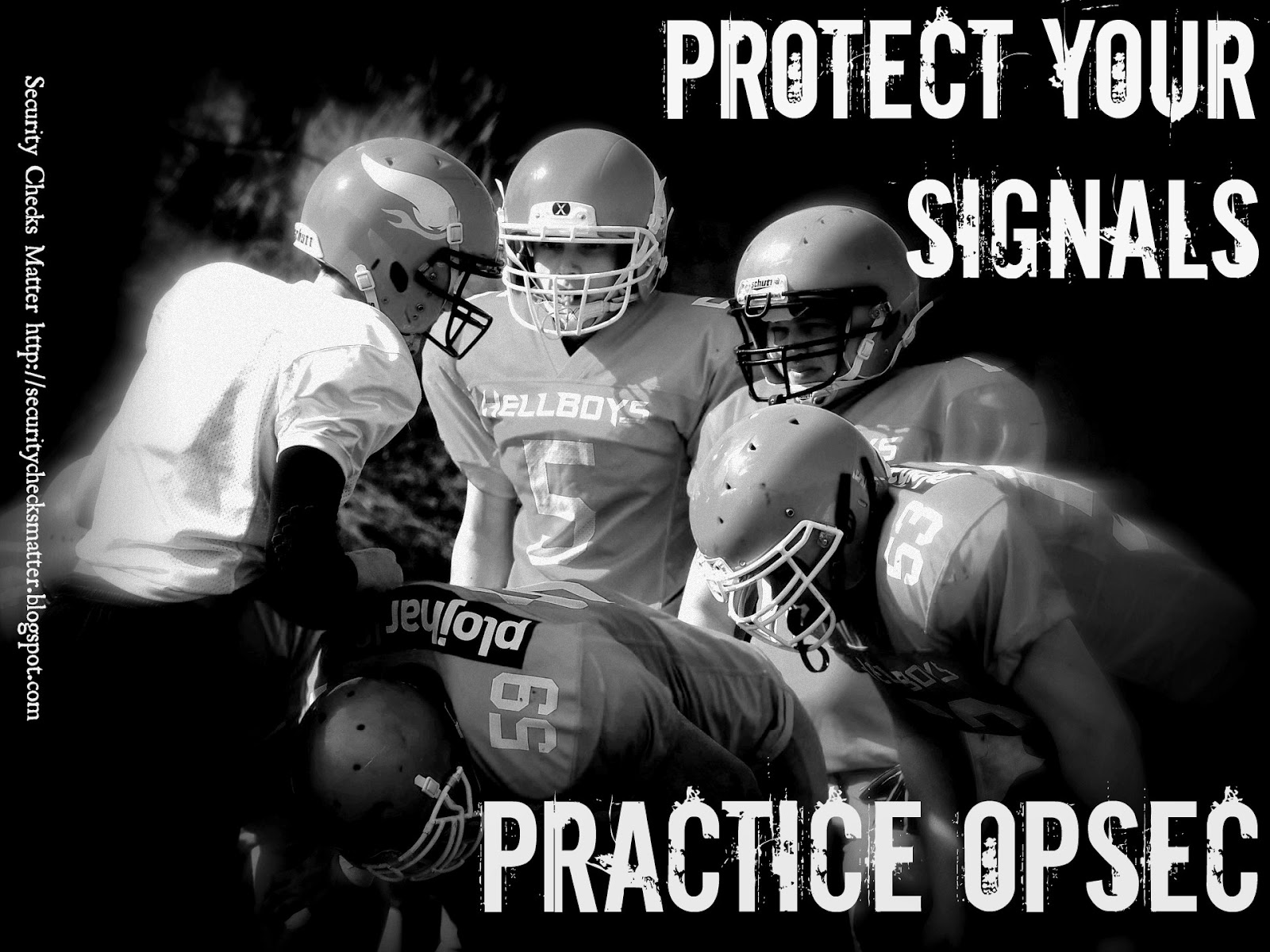 Protect your signals practice OPSEC