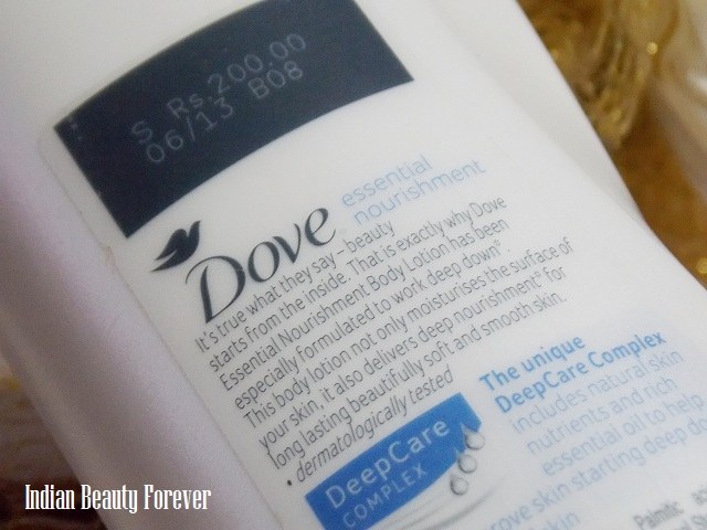 Dove Body Lotion for Normal to Dry skin Review