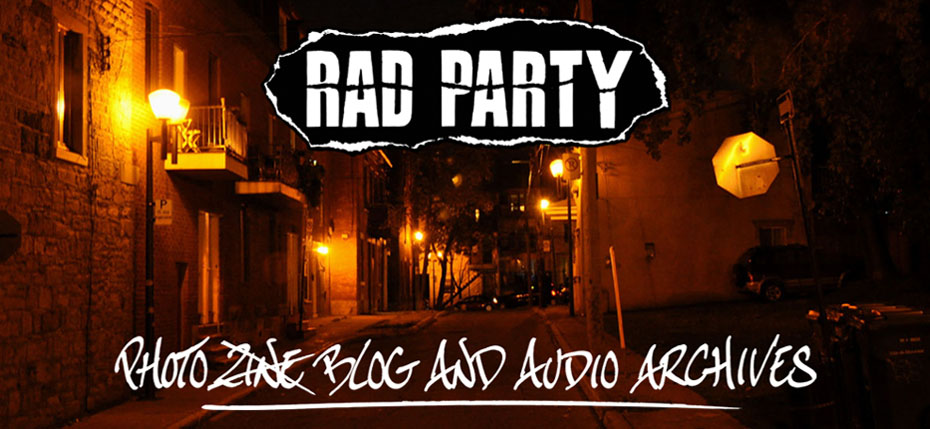 Rad Party Photo Blog