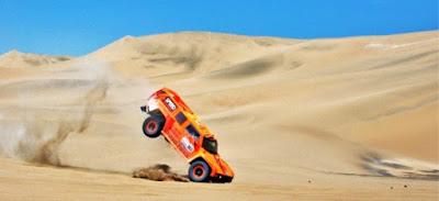 Parigi-Dakar - crash camion