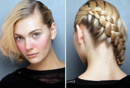 Peinado Trenza Cosida Costado - Peinado trenza cosida al costado YouTube