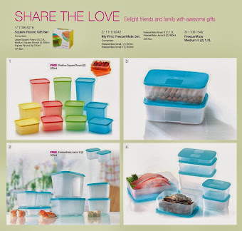 SQUARE ROUND TUPPERWARE