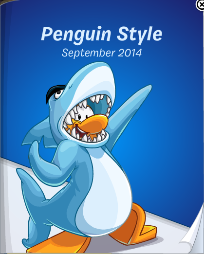 Club Penguin September 2014 Penguin Style Catalog Cheats
