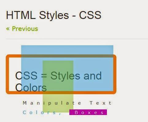 Как сделать css для html