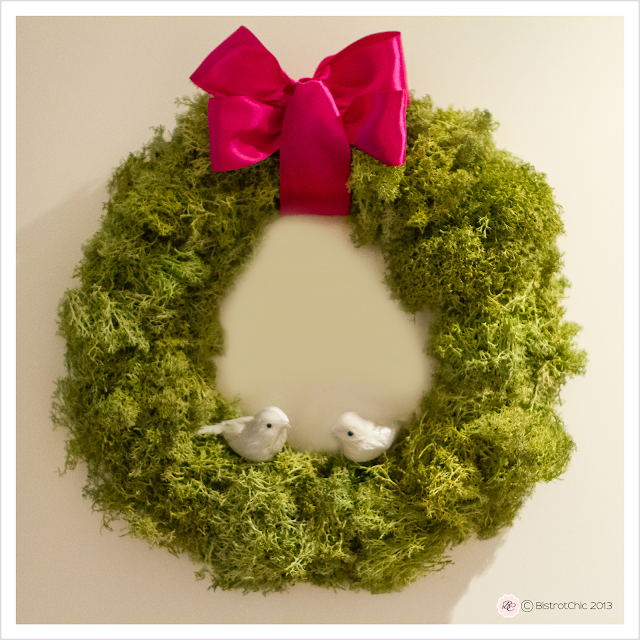Valentine wreath from BistrotChic