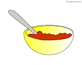 How to draw Cereal for kids