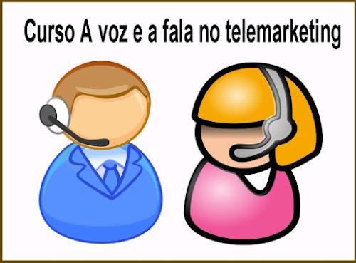 Curso Online Grátis- A voz e a fala no telemarketing