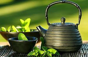 Chá com Menta