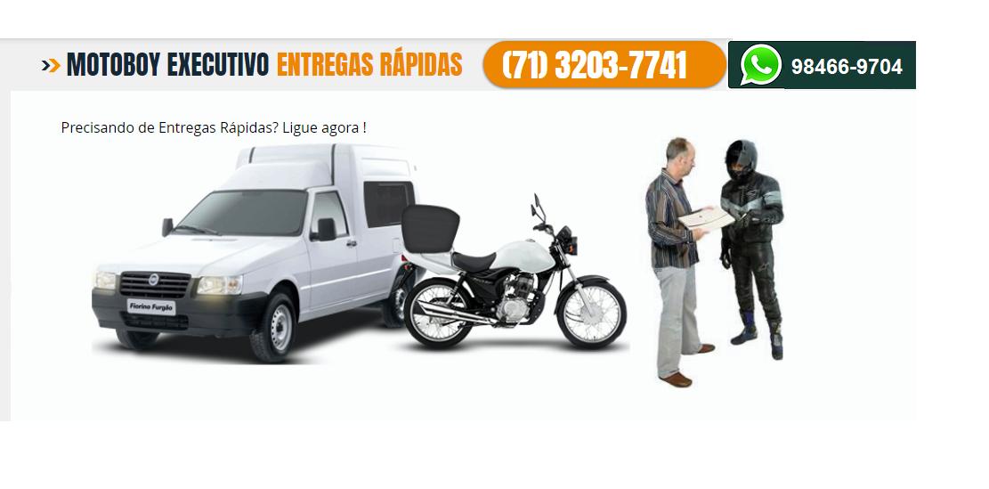 Motoboy Executivo Salvador