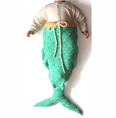 mermaid sleeping bag