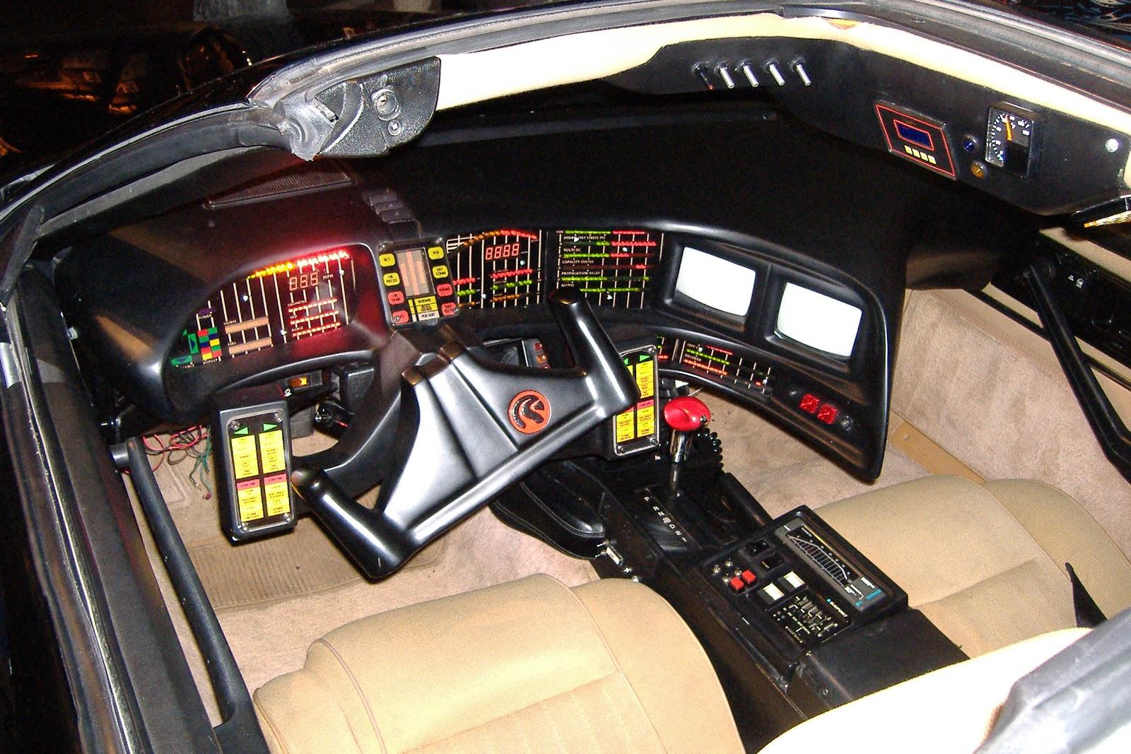 knight rider original car for sale car interior design. Black Bedroom Furniture Sets. Home Design Ideas