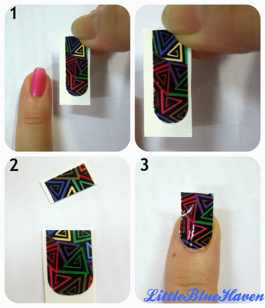 Bloop Party Nails Nail Polish And It Strip Review X Hishop Sticker How To With