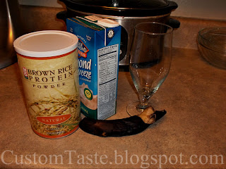 Almond Banana Protein Drink by Custom Taste