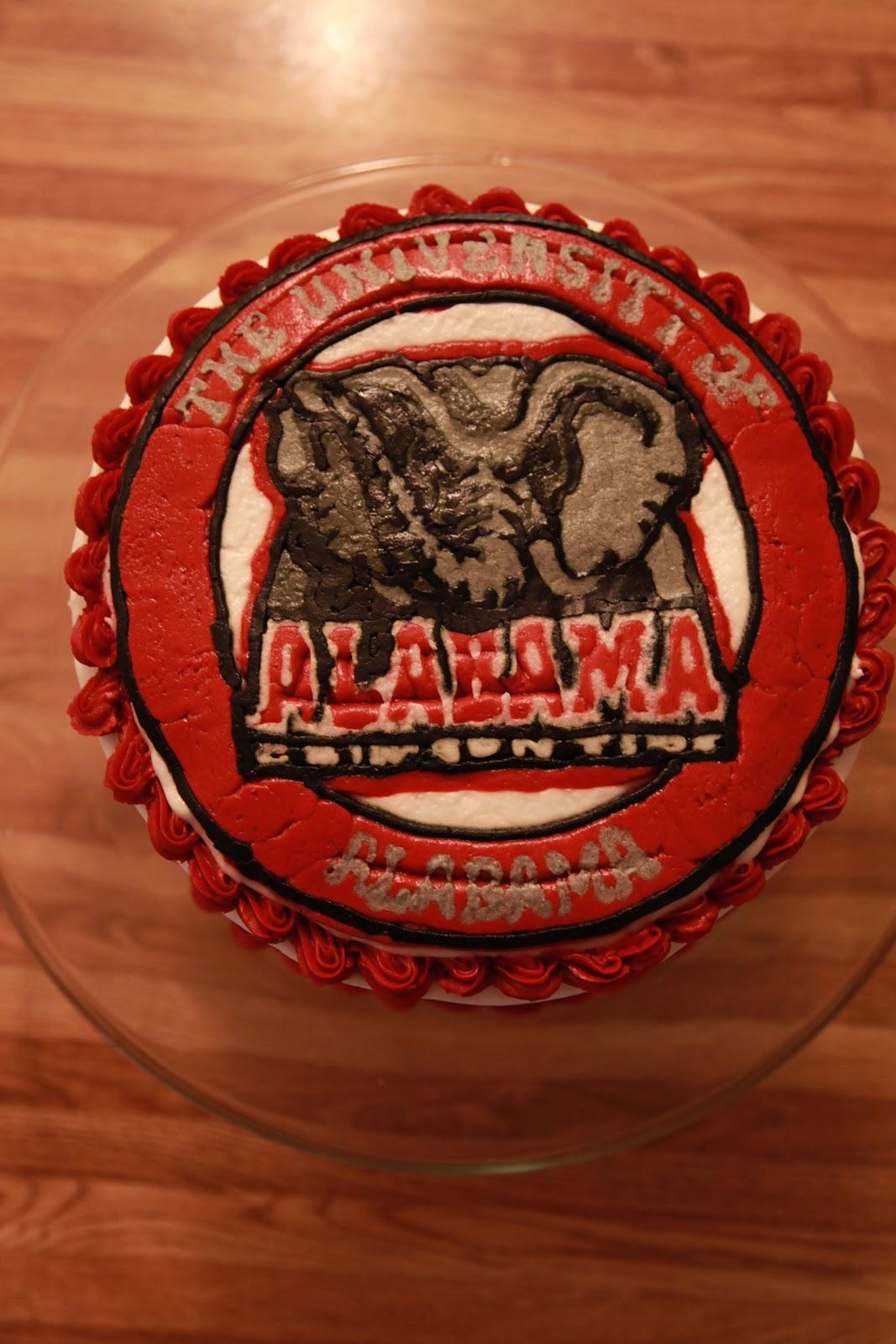 Alabama Wedding Cake Surprise
