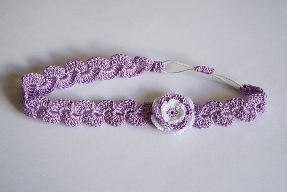 Pin diademas crochet ganchillo fina and post on pinterest - Diademas a crochet ...