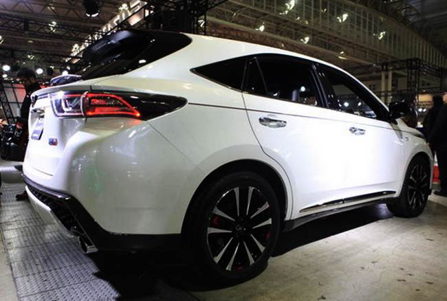 2017 Rumours Toyota Harrier In Canada