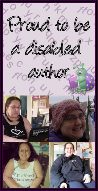 Proud to be a Disabled Author