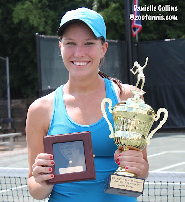 IMG Academy Alum, Danielle Collins Claims Girls 18s Clay Court Championship
