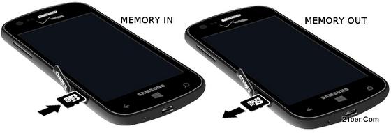 Insert Memory Card Remove microSD slotSamsung Ativ Odyssey SCH I930