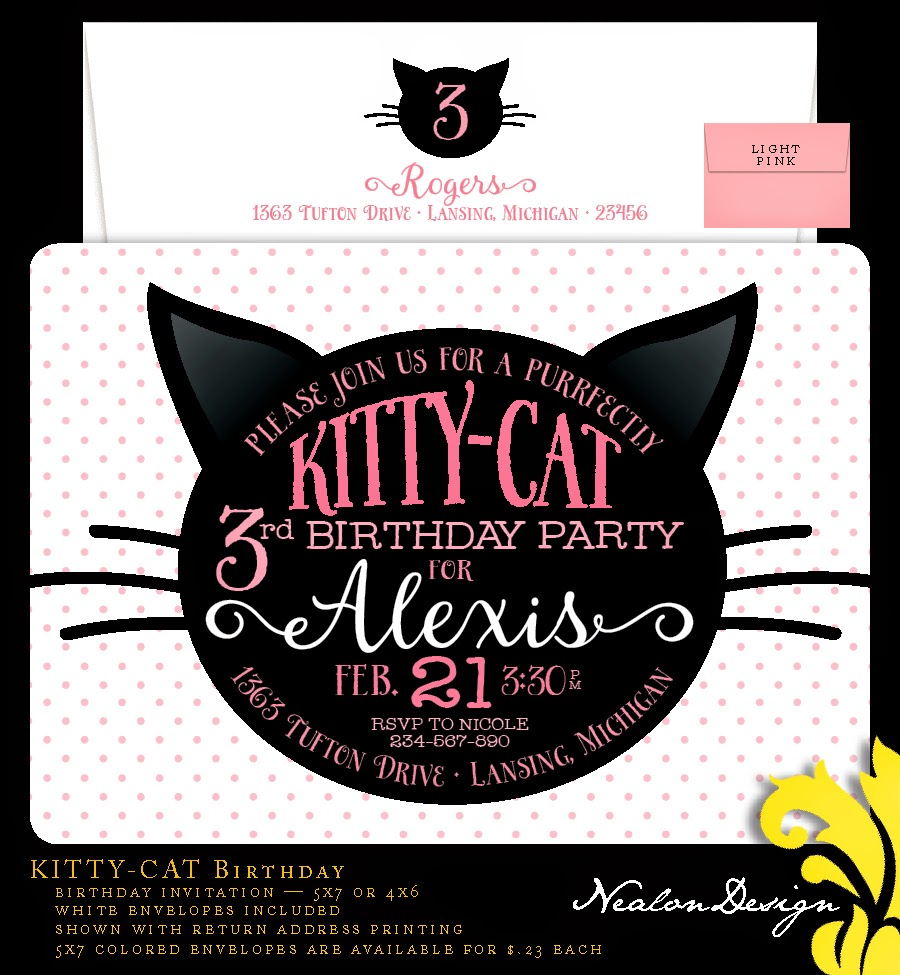Black And White Party Invitations with perfect invitation design