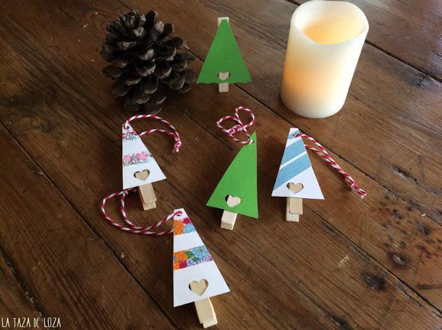 7 ideas de packaging navideño: adornos y etiquetas árbol de navidad | http://bizcochosysancochos.blogspot.com/
