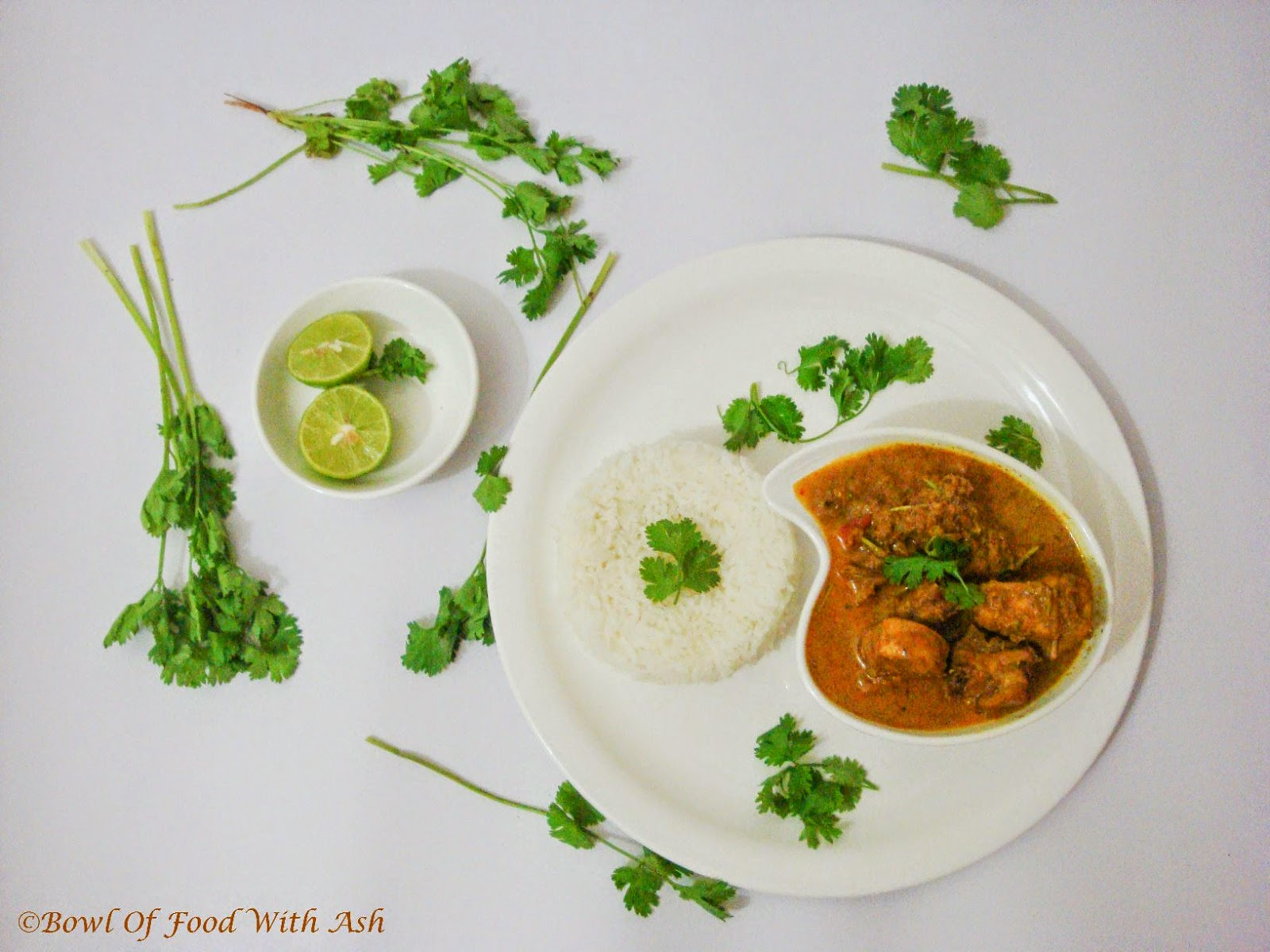 Chicken Curry (using coconut)