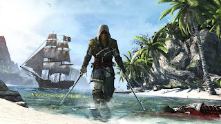 Assassin's Creed 4 Black Flag Pirate Ship HD Wallpaper