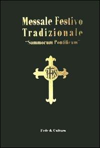 Libro: Messale festivo tradizionale «Summorum Pontificum». Ediz. italiana e latina (Amazon)